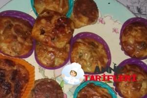 Patatesli Muffın Kek